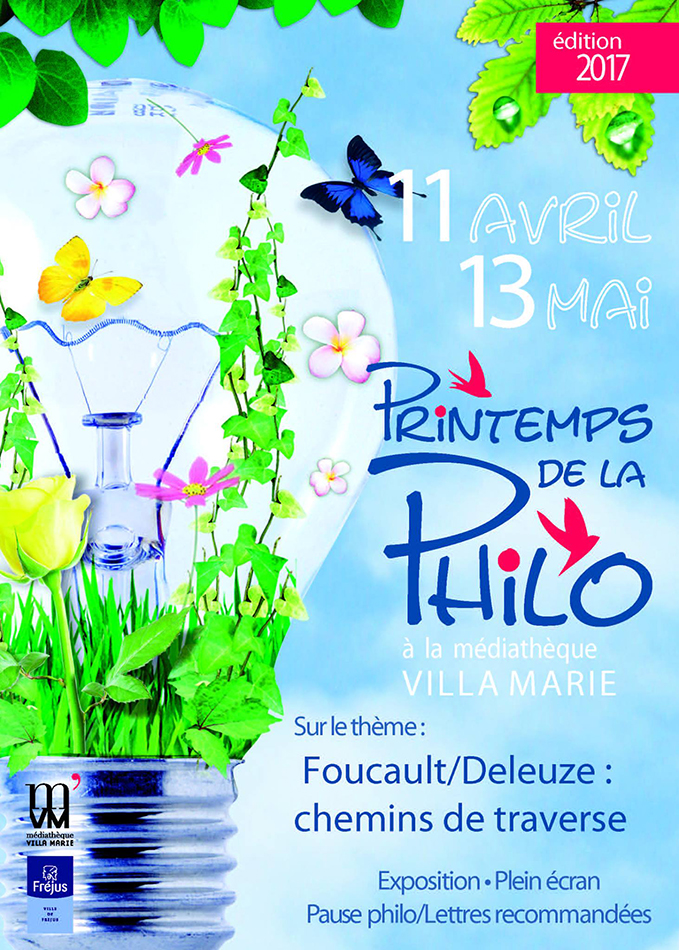 16 - Printemps de la philo 11 avril => 13 mai